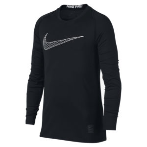 БЕЛЬЕ NIKE PRO ФУТБОЛКА ДЛ/Р TOP LS FTTD kids