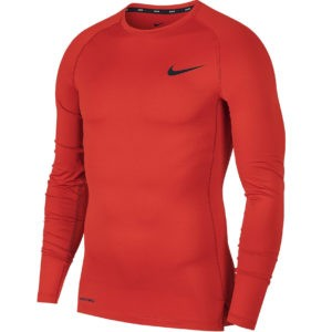БЕЛЬЕ NIKE ФУТБОЛКА M NP TOP LS TIGHT