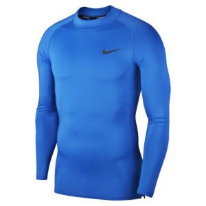 БЕЛЬЕ NIKE ФУТБОЛКА M NP TOP LS TIGHT MOCK